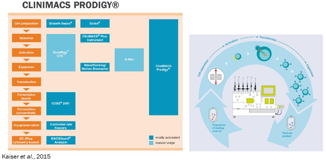 CliniMACS Prodigy workflow